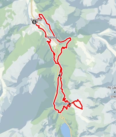 Map / The Flix e-bike tour