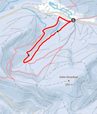 Karte / Schwarzenbergloipe