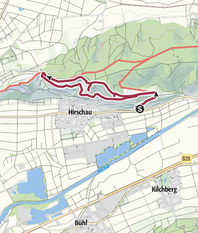 Map / Früchtetrauf | Hirschauer Spitzbergwegle