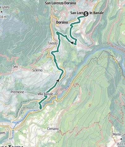 Cartina / Sentiero della Cooperazione 5
