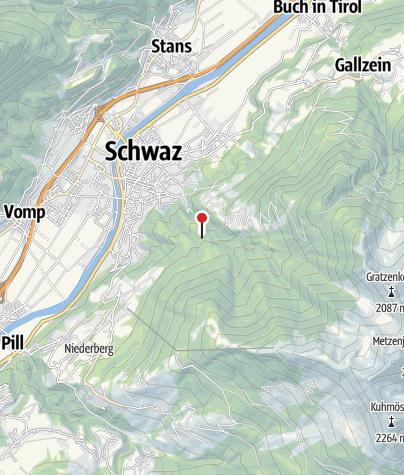 Mapa / Jausenstation Schmadlegg