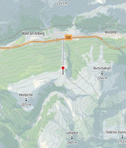 Karte / Sonnenkopf-Bärenland