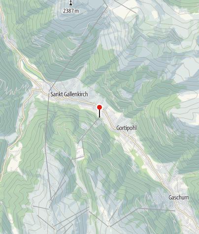 Karte / Silvretta Montafon Garfrescha Bahn