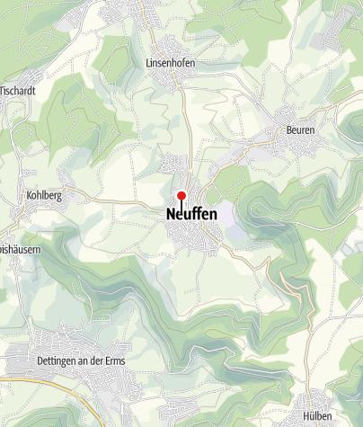 Karte / Neuffen Lindenplatz