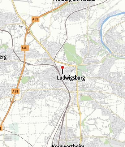 Karte / Ludwigsburg Abelstraße