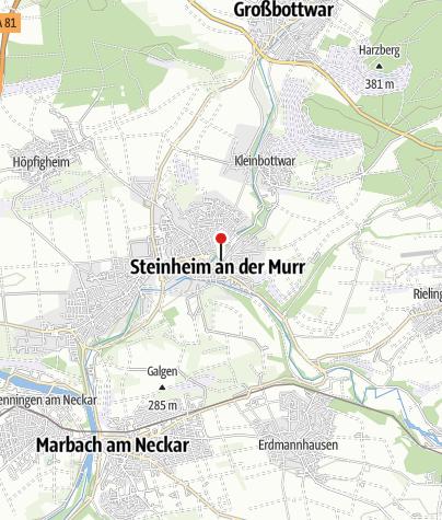 Karte / Steinheim (M) Kelter