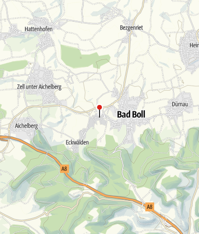 Karte / Bad Boll Kurhaus