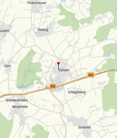 Karte / Erkheimer Landhaus