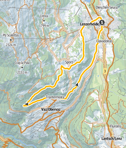 Kaart / GPS Lain Tour