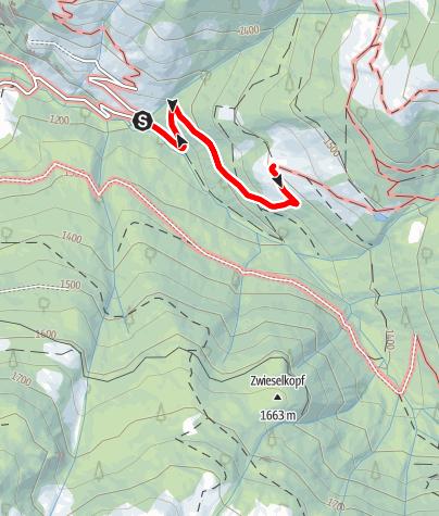 Karte / Großarl: Breitenebenalm
