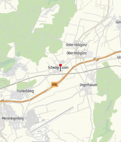 Karte / Gasthaus Schwarzer Adler