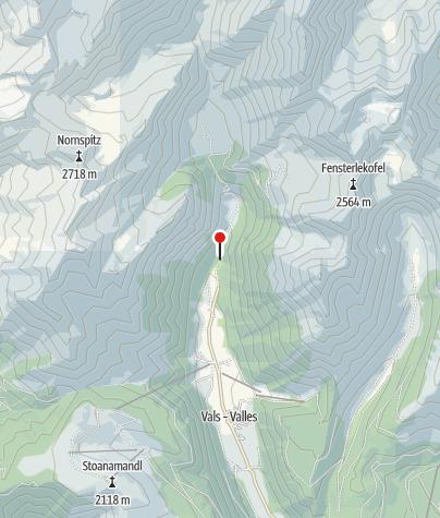 Mapa / Kurzkofelhütte
