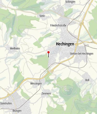 Karte / Hechingen Drosselweg