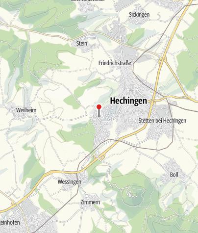 Karte / Hechingen Schlossberg
