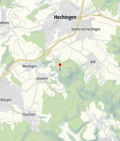 Karte / Hechingen Burg Hohenzollern