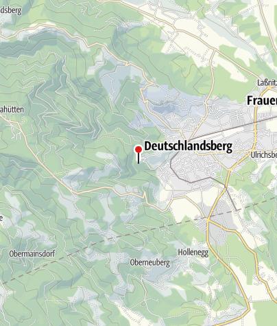 Karte / Burg Deutschlandsberg
