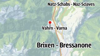 Karte / Kneippanlage Vahrn