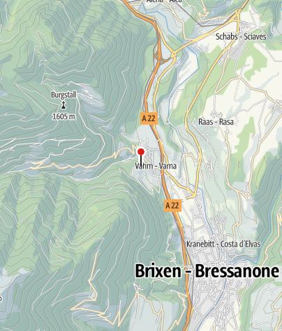 Mapa / Kräuterhof Bartgeis
