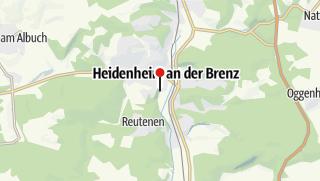 Karte / Hotel Alt Heidenheim
