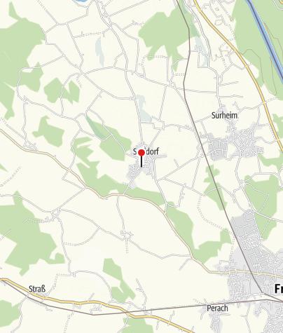 Karte / Gemeinde Saaldorf - Surheim
