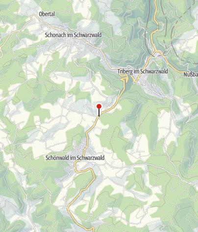 Karte / Schönwald Inselklause
