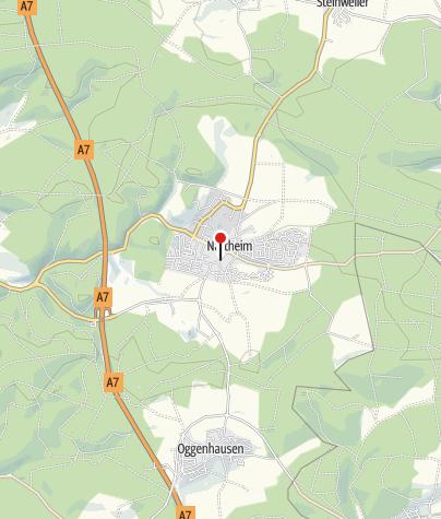 """Karte / Brauereigaststätte """"Zum Ochsen"""""""