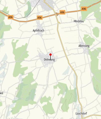 Karte / Heimathaus Taverne Dirlewang