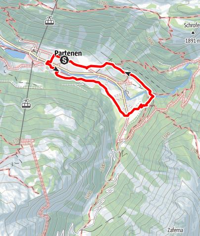 Map / Kinderwanderweg Partenen