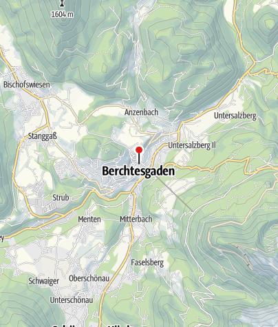 Karte / Kurgarten im Markt Berchtesgaden