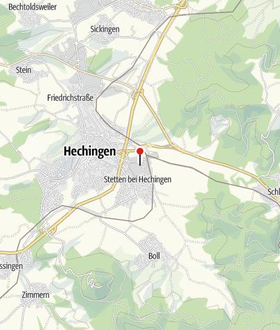 Karte / Hechingen Gambro