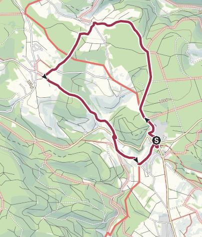Karte / Rothauser Ländle Tour