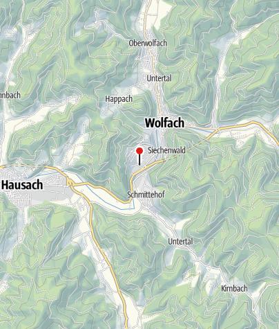 Karte / E-Bike Tankstelle: Dorotheenhütte Wolfach