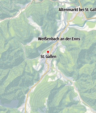 Karte / Hensle, Gasthof