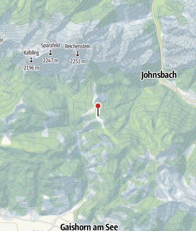 Map / Mödlinger Hütte, 1.523 m