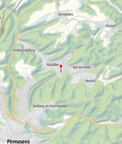 Map / Bold's Hotel-Restaurant Zum Grünen Kranz