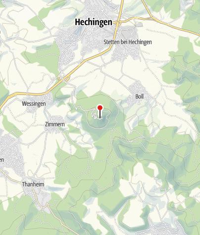 Karte / Burg Hohenzollern