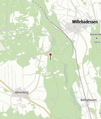 Kaart / Karlsschanze bei Willebadessen
