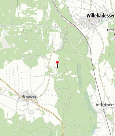 Karte / Kleiner Herrgott bei Willebadessen