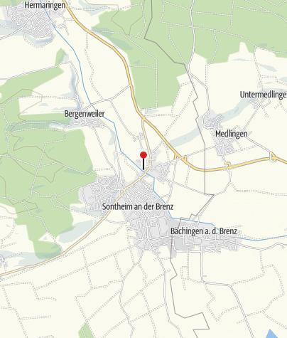 Karte / Schloss Brenz