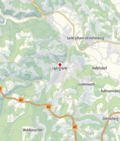 Karte / Gasthaus Gangl