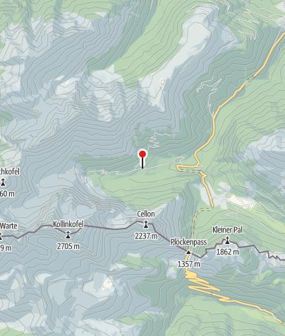 Karte / Gasthof Valentinalm