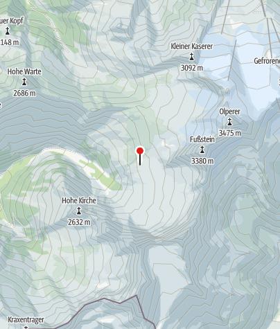 Mapa / Geraer Hütte