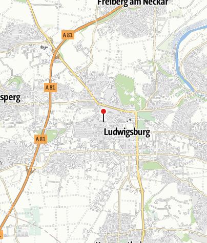 Karte / Ludwigsburg Rundsporthalle