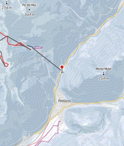 Map / Val di Fiemme/Obereggen