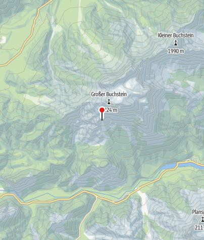 Karte / Buchsteinhaus, 1.546 m