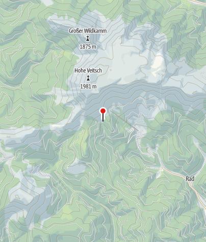 Karte / Schalleralm  Hütte