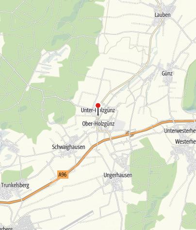 Karte / Gemeinde Holzgünz