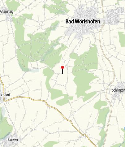 Karte / Wallfahrtskirche St. Rasso, Untergammenried