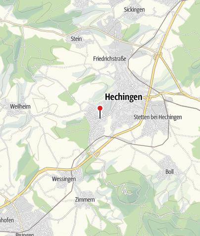 Karte / Hechingen Weilheimer Str.