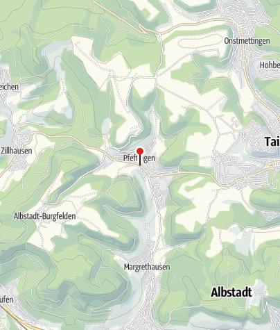 Karte / Pfeffingen Lamm